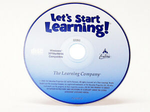 Lets Start Learning by Reader Rabbit Windows 7 Computer CD PC Game Learn to Read