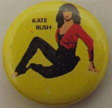 "KATE BUSH Vtg 1980`s Button Badge Pin(25mm-1"") #KB101"