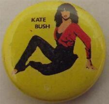 "KATE BUSH Vtg 1980`s Button Badge Pin(25mm-1"") #KB101"