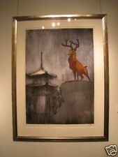 Bambi Art Japanese Ukiyoe Pop Art Pop Surrealism Disney Kyoto silkscreen