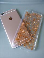 Unique Rose Gold Leaf Flake Gold Foil iPhone 6/6s Plus Slim Design Phone Case