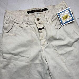 Vintage Girbaud Jeans 32x33 Deadstock Marithe Francois Girbaud 90s Y2K Beige