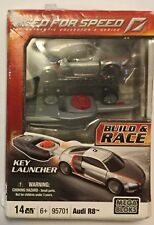 !NEED FOR SPEED THE AUTHENTIC COLLECTOR'S SERIES BUILD & RACE KEY LAUNCHER MEGA