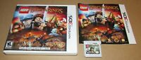 LEGO The Lord of the Rings for Nintendo 3DS Complete Fast Shipping