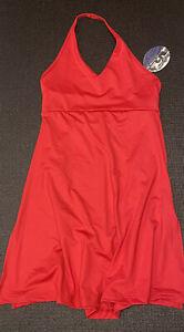 Halter Dress Tanzkleid 7408 von CAPEZIO in ROT Gr. L