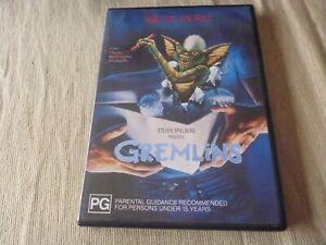 Gremlins (DVD, 2000) Region 4 Zach Galligan Phoebe Cates