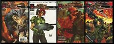 Starship Troopers Dead Man's Hand Comic Set B 1-2-3-4 Markosia Mobile Infantry