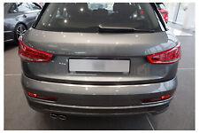 Ladekantenschutz für Audi Q3 8U Quattro Edelstahl Rostfrei Abkantung 2011-2018