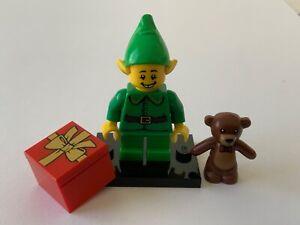 LEGO - MINIFIGURINE DE COLLECTION - SERIE 11 : HOLIDAY ELF : COL11-7