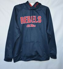 Ole Miss Rebels Men's Colosseum Athletics Full On Hooded Jacket Size XXL