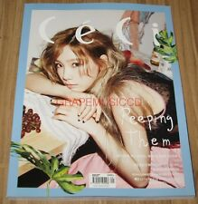CECI ANOTHER TAEYEON GIRLS' GENERATION TWICE KOREA MAGAZINE 2016 SEP SEPTEMBER