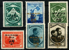 Romania 1934 SG#1289-1294 Boy Scouts, Optd Mamaia Jamboree Fund MNH Set #D33709