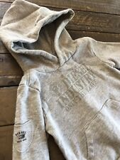 Diesel Industry Toddler Boy Logo Sweatshirt Hoodie Sweater 2t 2 Grey