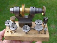 Relojeros torno G. Boley Ginebra D patrón 1/4 pulgadas Collet 6mm paso/Cera mandriles + +