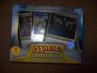 COMMANDER 2011 MIRROR MASTERY BLUE RED GREEN DECK SEALED FREE SHIP WITH TRACKING