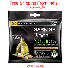 20 X Garnier Original Black Naturals 2.0 Oil Enriched Creme Color 20 ml +20 gm
