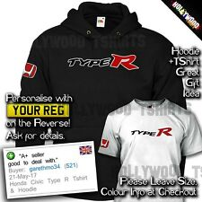 Honda Civic Type R T Shirt & Sweat à capuche-MUGEN POWER-Homme Tee-shirt Anniversaire Idée Cadeau