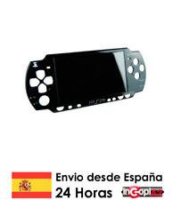 PSP SLIM CARCASA FRONTAL ORIGINAL (Negra)
