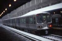 CHICAGO TRANSIT AUTHORITY Railroad Station Depot IL Original 1979 Photo Slide 2
