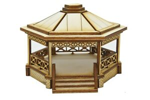BS003 Medium Bandstand OO Gauge Model Laser Cut Kit