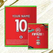 """Xbox One FIFA 20 Custom Team cover sleeve Personalised """"Includes Free Case"""""""