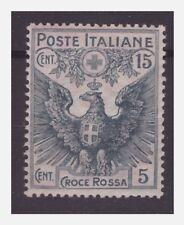 REGNO 1915  -  PRO CROCE ROSSA  Cent. 15+5   NUOVO  **