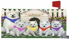 Spring Dog House Mailbox Cover, Dogs, Cats, Pet Photo Lovers Outdoor Decor Gift