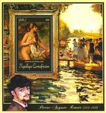 Central Africa - 2011 Renoir Painting - Stamp Souvenir Sheet - 3H-163