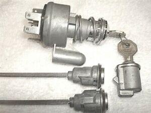 NOS Door & Glove Locks & Ignition Switch & Keys Willys Jeep Wagoneer J Commando