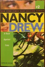 Vintage Nancy Drew Girl Detective #2: A Race Against Time PB Free Shipping Wow!!