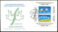 Turkish Cypriot Posts 1995 Europa M/S FDC First Day Cover #C37160