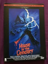 House By The Cemetery DVD Fulci All Region 0 ULTRABIT Limited Edition # 984/2000