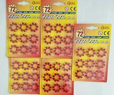 Supermatic 624 Colpi Shots 6 Blister da 104 Munizioni Cad. Edison Giocattoli