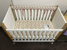 Fisher Price Timber Baby Cot Mattress and Accessories