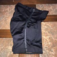 AeroTech Designs Cyclewear Black Padded Cycling Bike Shorts Sz LG