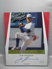 2000 Tim Hudson Signed Autograph 8x10 Vancouver Canadians Photo Minor League