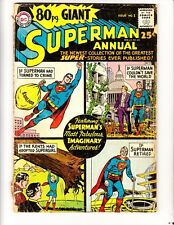 Superman 80 Page Giant 1 (1964): FREE to combine- in Fair condition