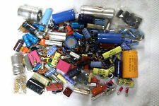 CAPACITORS removed from IBM equipment   2.3 lbs VARIOUS Range of many values