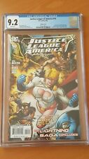 Justice League of America # 10 CGC Graded 9.2 DC comic book 2007 not 9.8