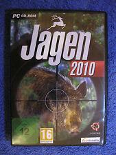 PC CD Rom Spiel Jagen 2010 (PC, 2010, DVD-Box) Jagd Simulation Jäger Jagdsaison