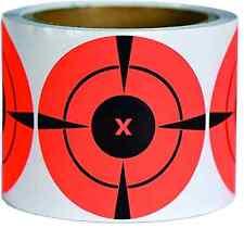 250 Pack 3 Target Stickers NEON Self Adhesive Splatter Targets Shooting BB Gun