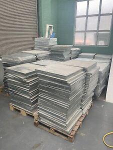 SUSPENDED FLOOR TILES-PANELS-RAISED ACCESS-STEEL ENCASED 600-PEDESTALS-KINGSPAN
