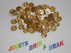 Lot de Boutons buttons Vintage Dorés diametre 12mm choose quantity