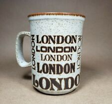 Dunoon Ceramics LONDON Mug Cup Made in Scotland