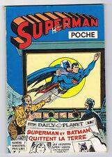SUPERMAN POCHE - N°7 - 1977