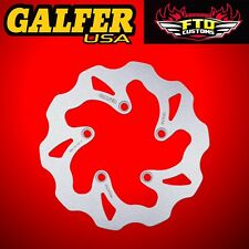 Galfer Rear Solid Wave Rotor For 2008-2012 Suzuki Hayabusa DF355W
