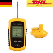 DHL! Tragbar Wireless Echolot Fish Finder Fischfinder Sonar Sensor Reichweite