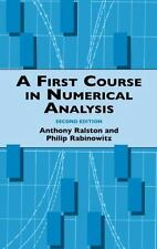 A First Course in Numerical Analysis: Second Edition (Dover Books on Mathematic