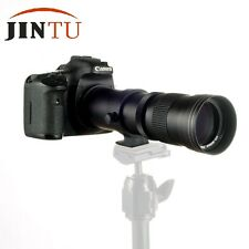 JINTU 420-800mm f/8.3-16 Telephoto Zoom Lens for Sony A900 A700 A300 A200 Camera