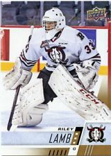 17/18 UPPER DECK CHL #281 RILEY LAMB RED DEER REBELS *48817